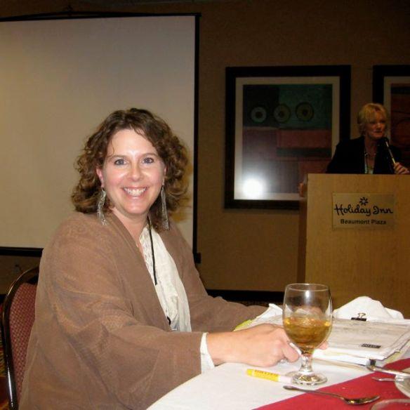CCTE Luncheon speaker Karla Morton, the 2010 Poet Laureate of Texas